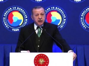 Erdoğan'dan TOBB'a yerli otomobil çağrısı