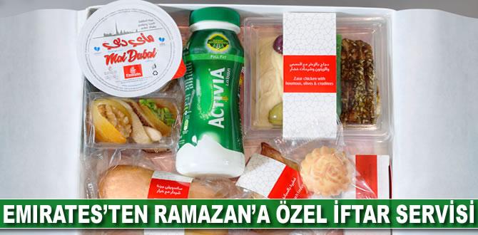 Emirates'ten Ramazan'a özel iftar servisi