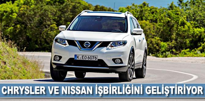 Chrsyler ve Nissan işbirliğini geliştiriyor