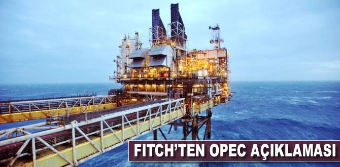 Fitch'ten 'OPEC' açıklaması