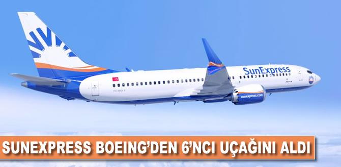 SunExpress Boeing'den 6'ncı uçağını teslim aldı