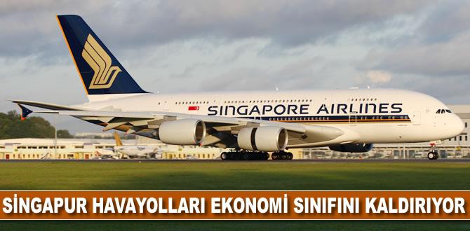 Singapur Havayolları ekonomi sınıfını kaldırıyor