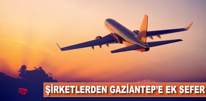 Havayolu şirketleri yoğun talep üzerine Gaziantep'e ek sefer koydu