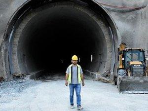 Avrupa'nın en uzunu olacak tünelin 6 kilometresi kazıldı