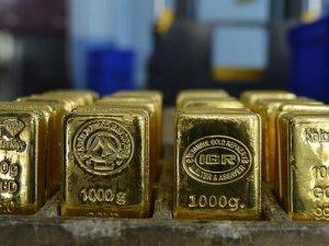 Altın üretimi ilk yarıda 2016'yı geçti