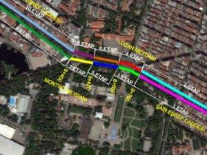 Konak Tramvay çalışmalarında son iki etap