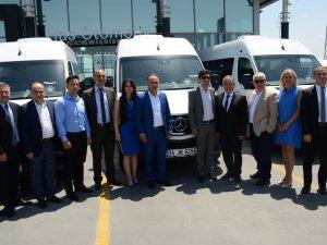 Mercedes-Benz Türk'ten Sesli Turizm'e  18 adet Sprinter teslimatı