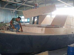 Vanlı tekne üreticisinin hedefi Hazar Denizi'ne açılmak
