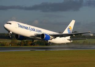 Thomas Cook uçağı motor arızası yaptı