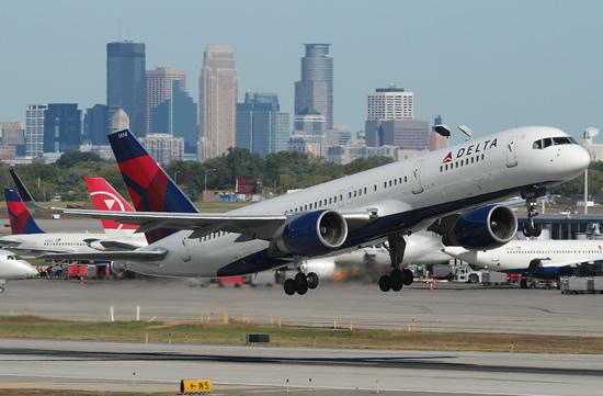 ABD'de Delta havayolları tehlike atlattı