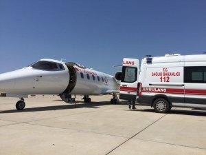 Ambulans uçaklar hastalanan hacılar için havalandı