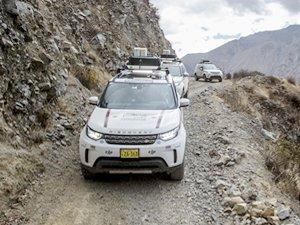 Goodyear, Land Rover Experience Peru Tur'un lastik tedarikçisi oldu