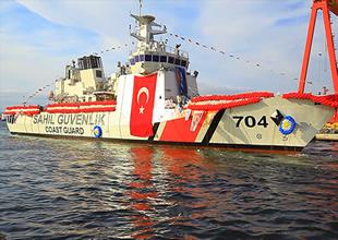 ''TCSG Yaşam'' törenle denize indirildi