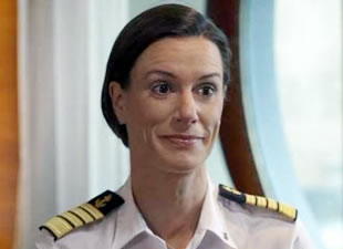 ABD'nin ilk kadın kruvaziyer gemisi kaptanı ilk seferini tamamladı