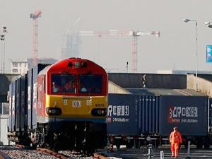 Çin'den ilk yük treni Slovakya'ya geldi
