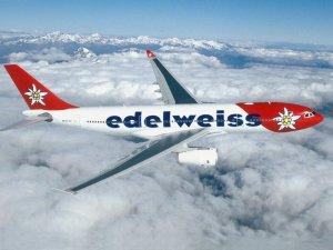 Edelweiss'in Zürih-Antalya arası direkt seferler başlayacak