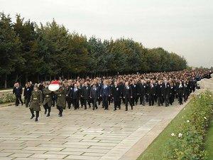 5 bini aşkın ASELSAN çalışanı Anıtkabir'i ziyaret etti