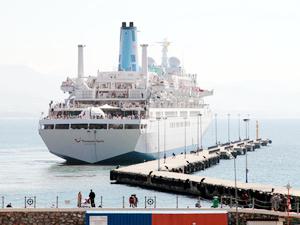 Türkiye'ye yılın ilk 10 ayında 299 kruvaziyer gemisi demirledi