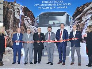 Renault Trucks, Ankara'da güçleniyor