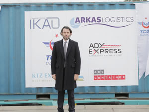 Demir İpek Yolu'nda Türkiye'den ilk treni  Arkas Lojistik çıkardı