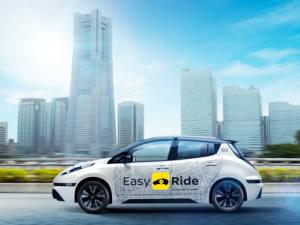 Nissan Robot-Taksi yola çıkıyor