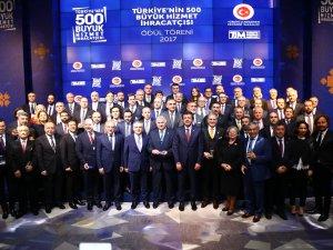 Atlasglobal, Türkiye'nin en büyük hizmet ihracatçıları listesine girdi