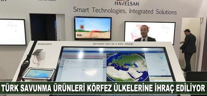Türk savunma ürünleri Körfez ülkelerine ihraç edilecek