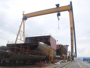 Cemre Tersanesi, Norveç'e gemi ihraç ediyor