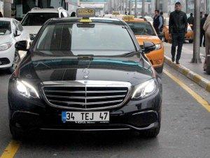 Havalimanında lüks taksi dönemi başladı
