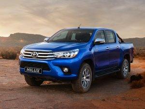 Toyota Hilux, 2017'de yüzde 21.9'luk pazar payına sahip oldu