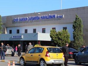Samsun Çarşamba Havalimanı 2017'de 1 milyonu aşkın yolcu ağırladı