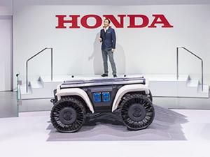 Honda CES 2018'de teknoloji şovu yaptı