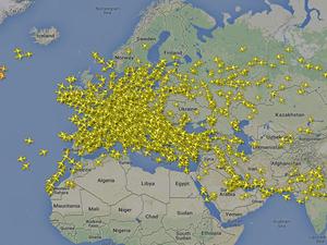 Türkiye, Avrupa hava trafiğine damga vurdu
