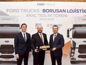 Borusan Lojistik, filosunu Ford Trucks ile güçlendirdi