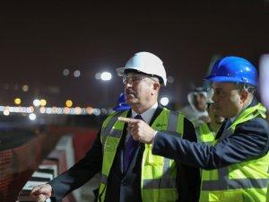 Mevlüt Çavuşoğlu, Kuveyt'te Limak havalimanı şantiyesini gezdi