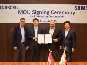 Turkcell ve Samsung 5G için birlikte çalışacak