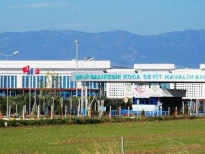 Koca Seyit Havalimanı yolcu sayısını ikiye katladı