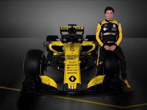 Renault 2018'de yarışacağı F1 aracı R.S.18'i tanıttı