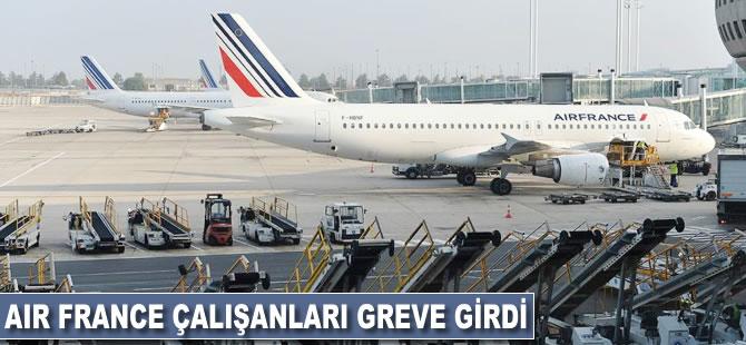Air France çalışanları greve girdi