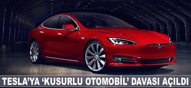 Tesla'ya 'kusurlu otomobil' davası açıldı