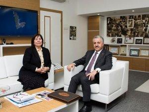 Ahmet Arslan DHMİ'yi ziyaret etti