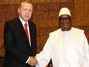 Recep Tayyip Erdoğan, Mali'ye metrobüs müjdesi verdi