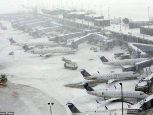 ABD'de hava trafiği durma noktasına geldi