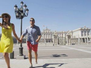 Yabancı turisti İspanya kaptı