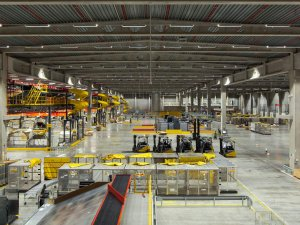 DHL, Brüksel'deki yeni merkeziyle kapasitesini 4 kat artırdı
