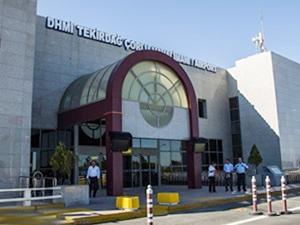 Çorlu Havalimanı'nda yolcu sayısı yüzde 59 arttı
