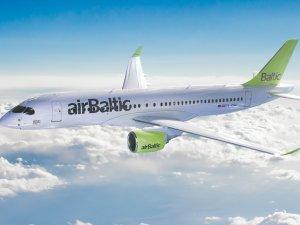 Air Baltic en dakik havayolu seçildi
