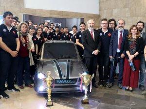 Karadeniz Teknik Üniversitesi öğrencileri hibrit otomobil üretti
