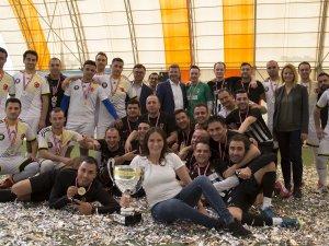 SunExpress CUP Internal Futbol Turnuvası'nda kazanan Antalya kabin ekibi oldu