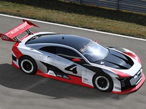 Audi e-tron Vision Gran Turismo, Formula E pistinde!